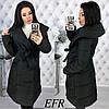 Женская теплая зимняя куртка-пальто (утеплитель-синтепон 200) разные цвета