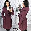 Женская теплая зимняя куртка-пальто (утеплитель-синтепон 200)