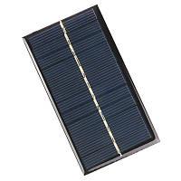Солнечная батарея мини панель 6В 1Вт, 110x60мм