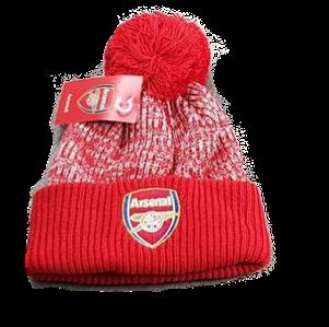 Зимняя шапка Арсенал красная