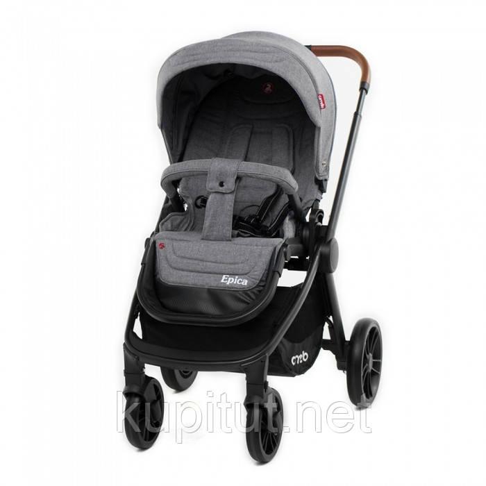 Коляска прогулочная детская CARRELLO Epica CRL-8509 Серая