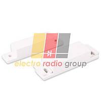 Датчик магнитоконтактный MC-31, 64*12.8*12.8 мм, пластик, белый (черный)