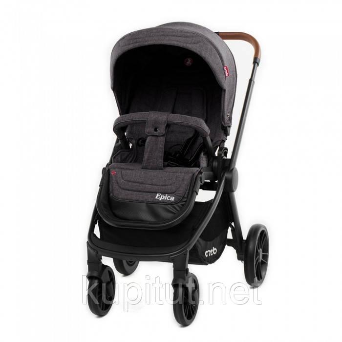 Коляска прогулочная детская CARRELLO Epica CRL-8509 Темно-серая