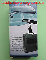 Компактный кантер (весы электронные) для туристов, от 0 до 50 кг, фото 1