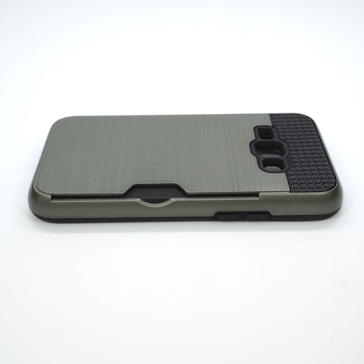 Чехол Rock Card Samsung Galaxy J120 navi green Для телефона Зеленый J1(2016)