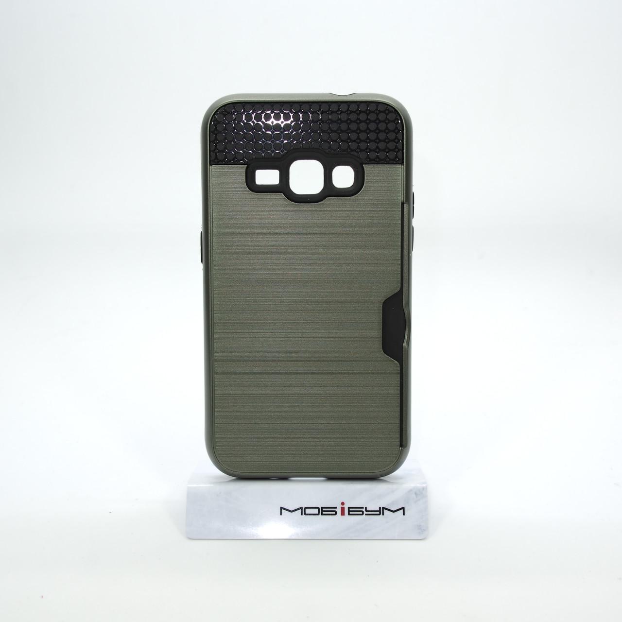 Чехол Rock Card Samsung Galaxy J120 navi green