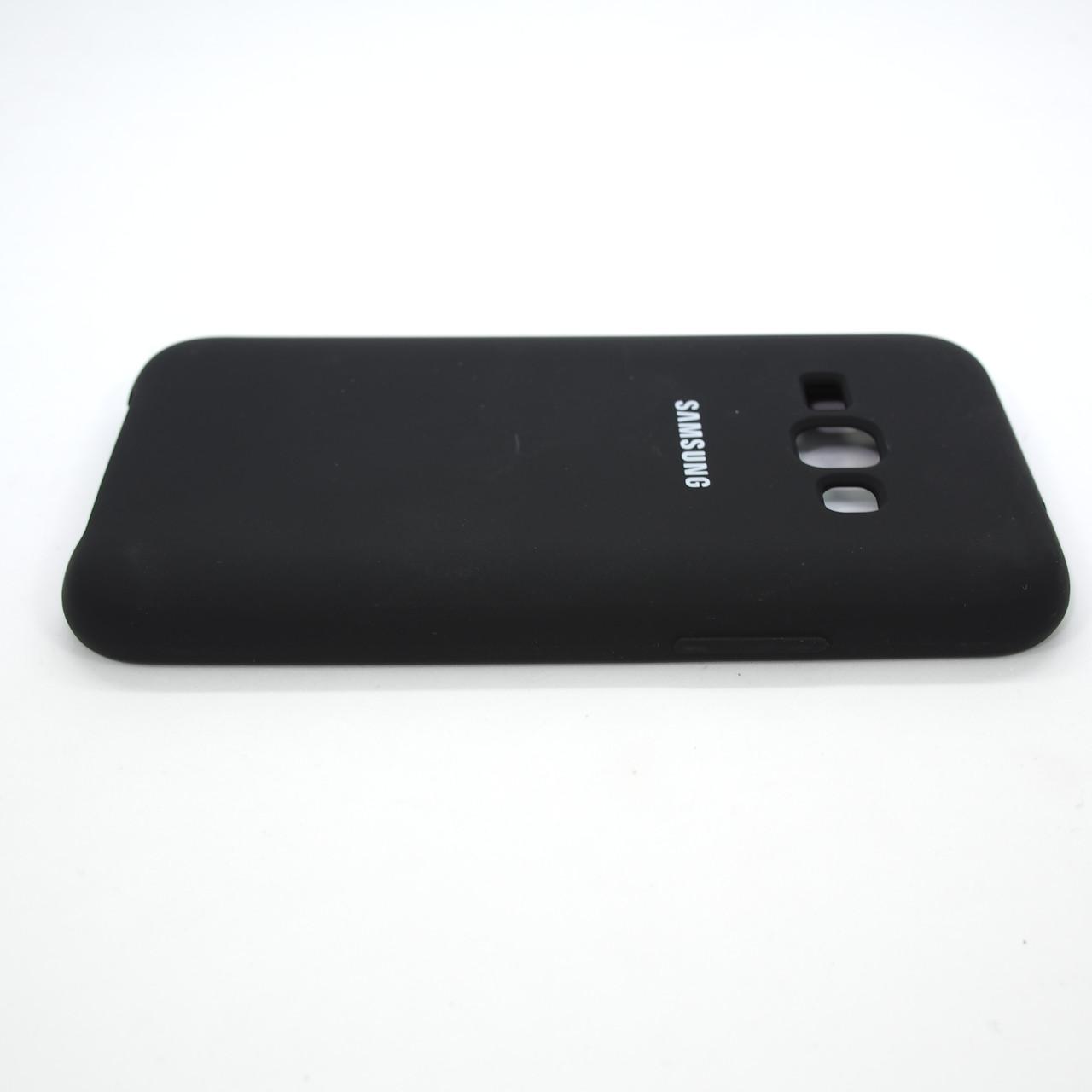 Чехлы для Galaxy J Series (остальные модели) Original Soft Samsung J120 black Для телефона Черный