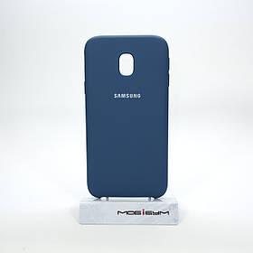 Чехол Original Soft Samsung Galaxy J330 dark blue
