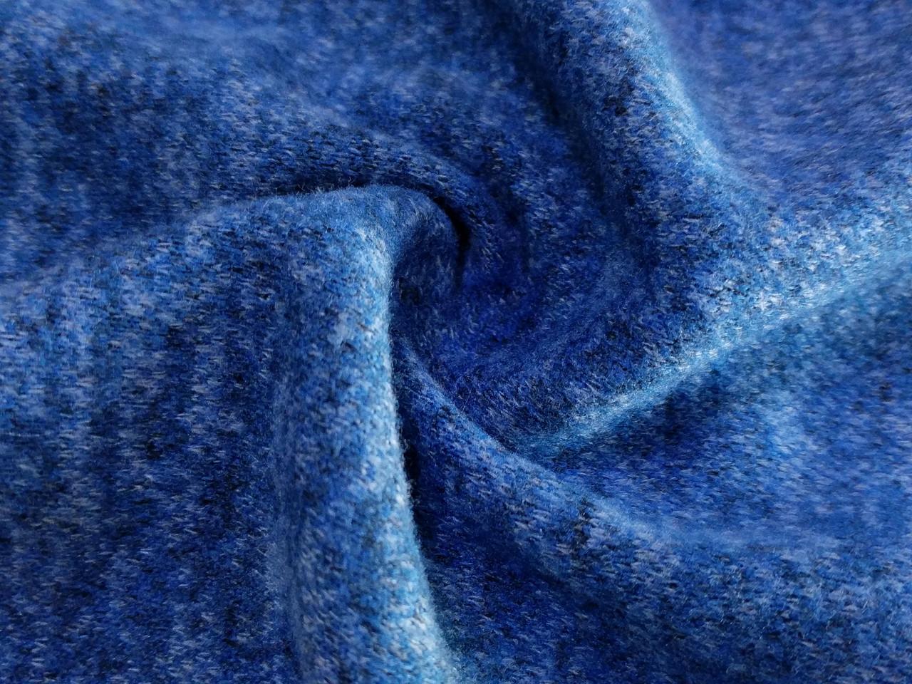 Трикотаж ангора софт, синий