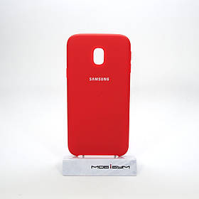 Чехол Original Soft Samsung Galaxy J330 red