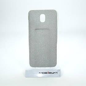 Накладка Remax Glitter Silicone Samsung Galaxy J330 black
