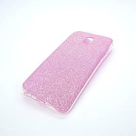 Накладка Remax Glitter Silicone Samsung Galaxy J330 pink