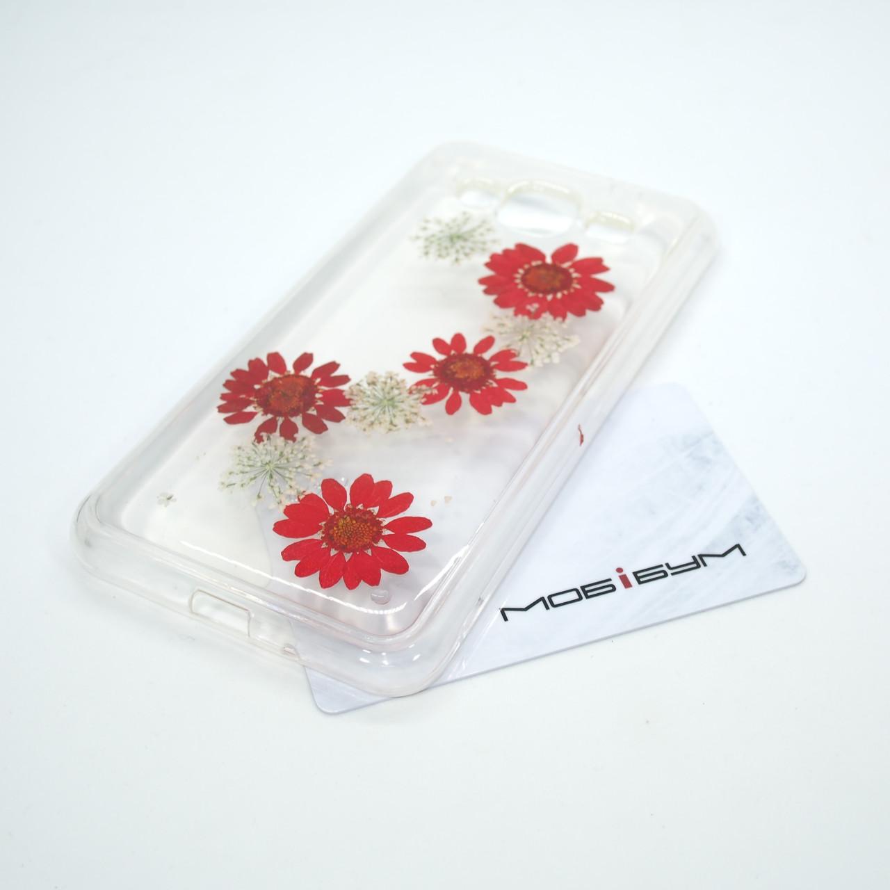 Чехол Natural Flowers Samsung Galaxy J320