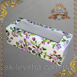 Коробка 140*55*45 мм. для макаронс Весна оконо