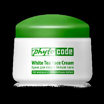 Крем для лица с белым чаем, Tiande 50г