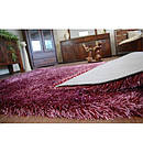 Ковер LOVE SHAGGY 60x110 см 93600 фиолетовый, фото 4