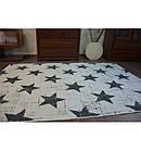 Ковер SIZAL FLAT 120x170 см 48648/927 звездный узор, фото 5