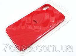 Чехол для iPhone XR силиконовый Molan Cano Jelly Case матовый красный
