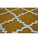 Ковер SKETCH  120 см круглый - F343 желтый/кремовый Марокканский узор, фото 3