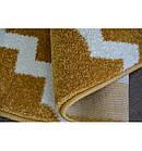 Ковер SKETCH  120 см круглый - F343 желтый/кремовый Марокканский узор, фото 5