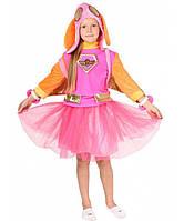 Детский костюм Скай для девочек 5,6,7,8,9 лет Карнавальный костюм Щенячий патруль 344