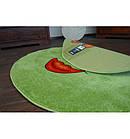 Ковер PAINT  120 см круглый - 1552 зеленый, фото 5