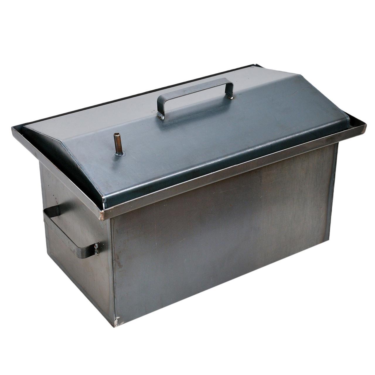Коптильня горячего копчения Гидрозатвор (РК-242548) (2мм, 520х310х280 мм)