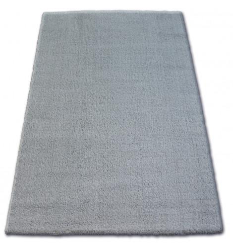 Ковер SHAGGY MICRO 80x150 см серый