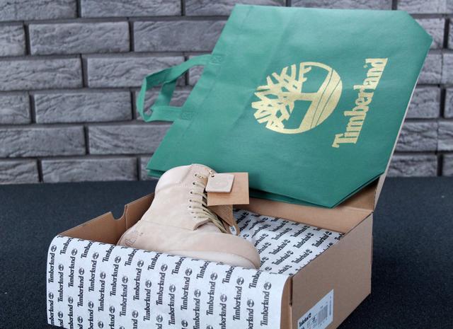енские натуральные зимние ботинки Timberland фото