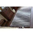 Ковер Shaggy SPACE 3D 80x150 см B222 серый, фото 2
