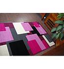 Ковер PILLY 100x200 см H202-8404 - пурпурный/розовый, фото 2