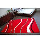 Ковер FOCUS - 8732 100x200 см красный линии, фото 2