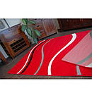 Ковер FOCUS - 8732 100x200 см красный линии, фото 3