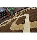Ковер FOCUS - F240 100x200 см венге квадраты какао, фото 4