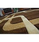 Ковер FOCUS - F240 100x200 см венге квадраты какао, фото 5