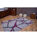 Ковер FOCUS - F241 100x200 см серо-фиолетовый, фото 2