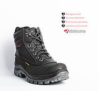 c5e602e556d5 Ботинки зимние из натуральной кожи Мужские. C резиновой накладкой для  защиты от воды. 40