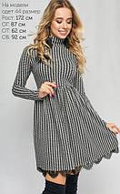 Женское платье с принтом гусиная лапка (3158 lp), фото 2
