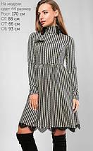 Женское платье с принтом гусиная лапка (3158 lp), фото 3