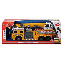 Грузовой автомобиль с краном Dickie Toys светом и звуком 62 см 3729004