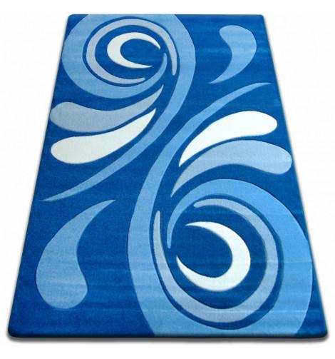 Ковер FOCUS - 8695 120x170 см голубой