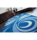 Ковер FOCUS - 8695 120x170 см голубой, фото 4