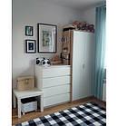 Ковер SKETCH 120x170 см - F759 белый черный - с узором, фото 2
