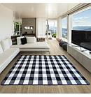 Ковер SKETCH 120x170 см - F759 белый черный - с узором, фото 4
