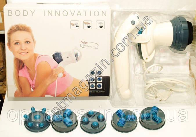 Масажер Body Innovatioсn з Насадками 6, фото 2