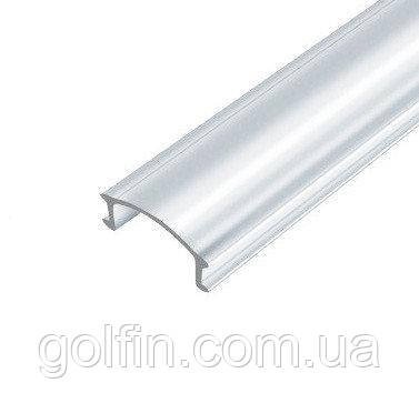 Рассеиватель поликарбонатный для алюминиевого профиля 2м (матовый)