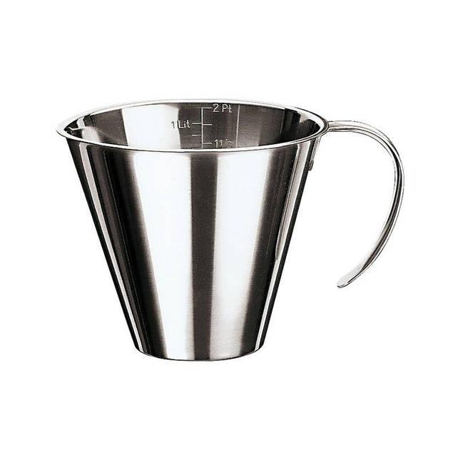 Мерный стакан 500 мл. нержавеющая сталь Paderno