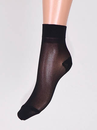Женские носки капроновые «Сказка» 40den чёрный (00127/BL) | 10 пар, фото 2