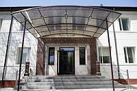 Навес над входом: офис по бульвар Центральный, 9а