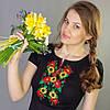 Молодёжная вышиванка малые подсолнухи | Молодіжна вишиванка малі соняшники